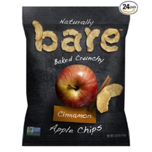 Natural Apple Chips from Bare Fruit