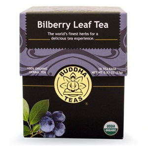 Bilberry Leaf Tea from Buddha Teas