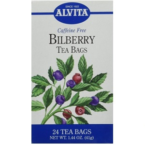 Organic Bilberry Tea from Alvita