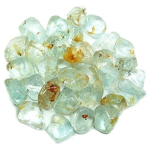 Blue Topaz Tumbled from Healing Crystals