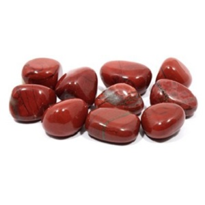 Red Jasper Tumble Stones from CrystalAge