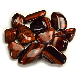 Red Tigers Eye Tumbled from Hypnotic Gems