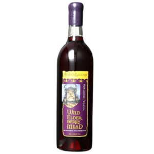 Wild Elderberry Honey Mead from Hidden Legend Winery