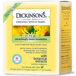 Witch Hazel Facial Towelettes from Dickinsons