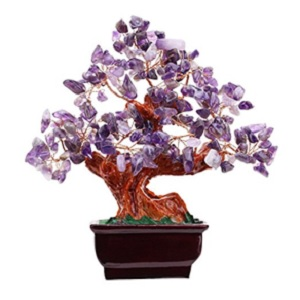 Amethyst Feng Shui Money Tree from Parma77 Mart