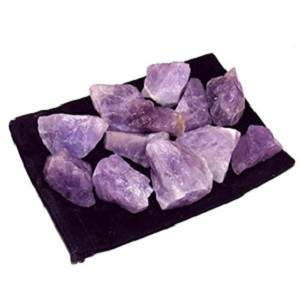Amethyst Rough Gemstones from Zentron Crystal Collection