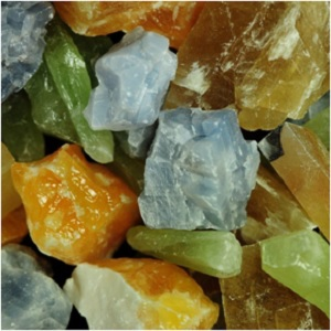 Calcite Rough Assorted Mix from Fantasia Materials