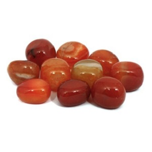 Carnelian Tumble Stone from CrystalAge