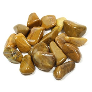 Yellow Jasper Tumble Stone from GeoFossils