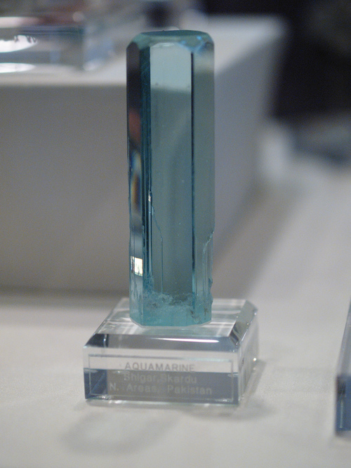 Aquamarine Facts - Aquamarine is actually a form of Blue Beryl, and a majority of aquamarine comes from Brazil and Colombia.