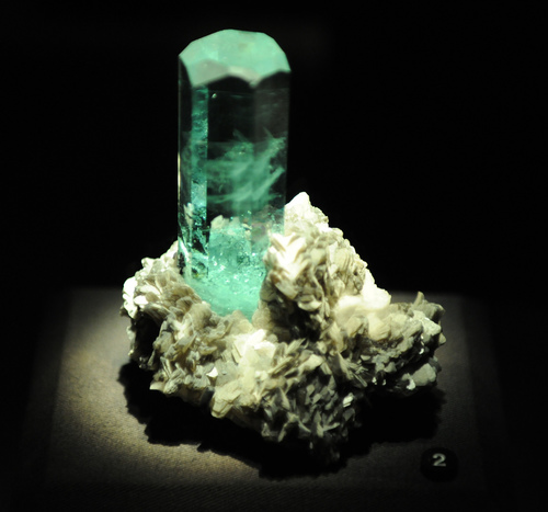 Properties of Aquamarine - Aquamarine is usually cut into rectangular shapes to bring out its sparkling ocean blue.