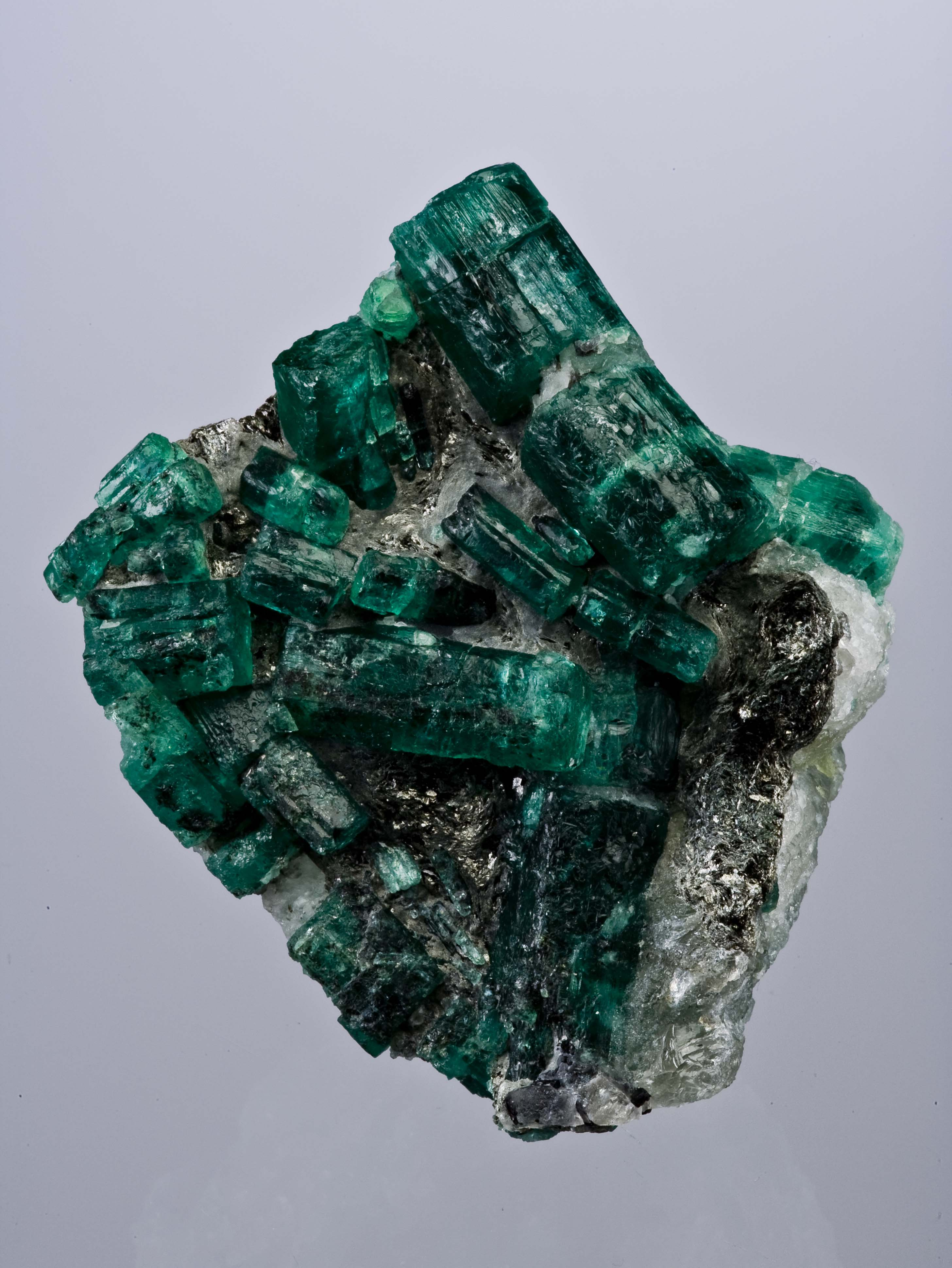 Emerald is usually found alongside other gems, most commonly quartz.  Of the four globally recognized precious stones, emerald is one of them, the others being rubies, sapphires and diamonds. -- Emerald Facts