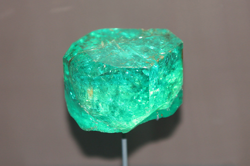 "Emerald is often referred to as ""The Poet's Stone,"" as it is considered a source for creativity and inspiration. -- Emerald Gemstone Meaning and Uses"