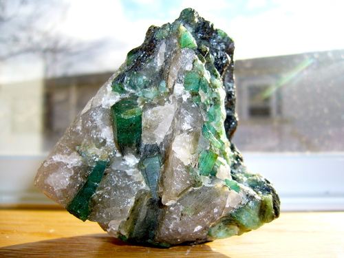 Emerald is associated with the Heart Chakra and Solar Plexus Chakra. -- Emerald Chakra