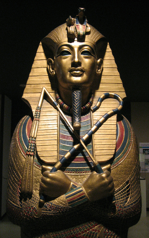 King Tutankhamen's tomb is actually generously inlaid with lapis lazuli, as Egyptian rulers' graves were often ornamented with the stone. -- Lapis Lazuli Meaning and Uses