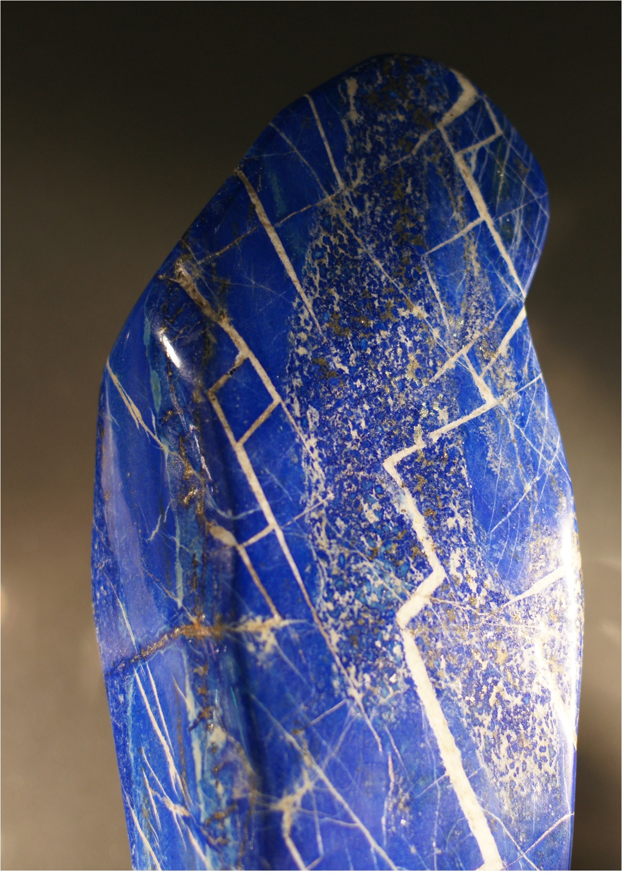 Metaphysically, lapis lazuli is also used for protection to guard against psychic attacks.  It can help open the Third Eye and is a useful companion for meditation and spiritual journeys. -- Lapis Lazuli Metaphysical USes