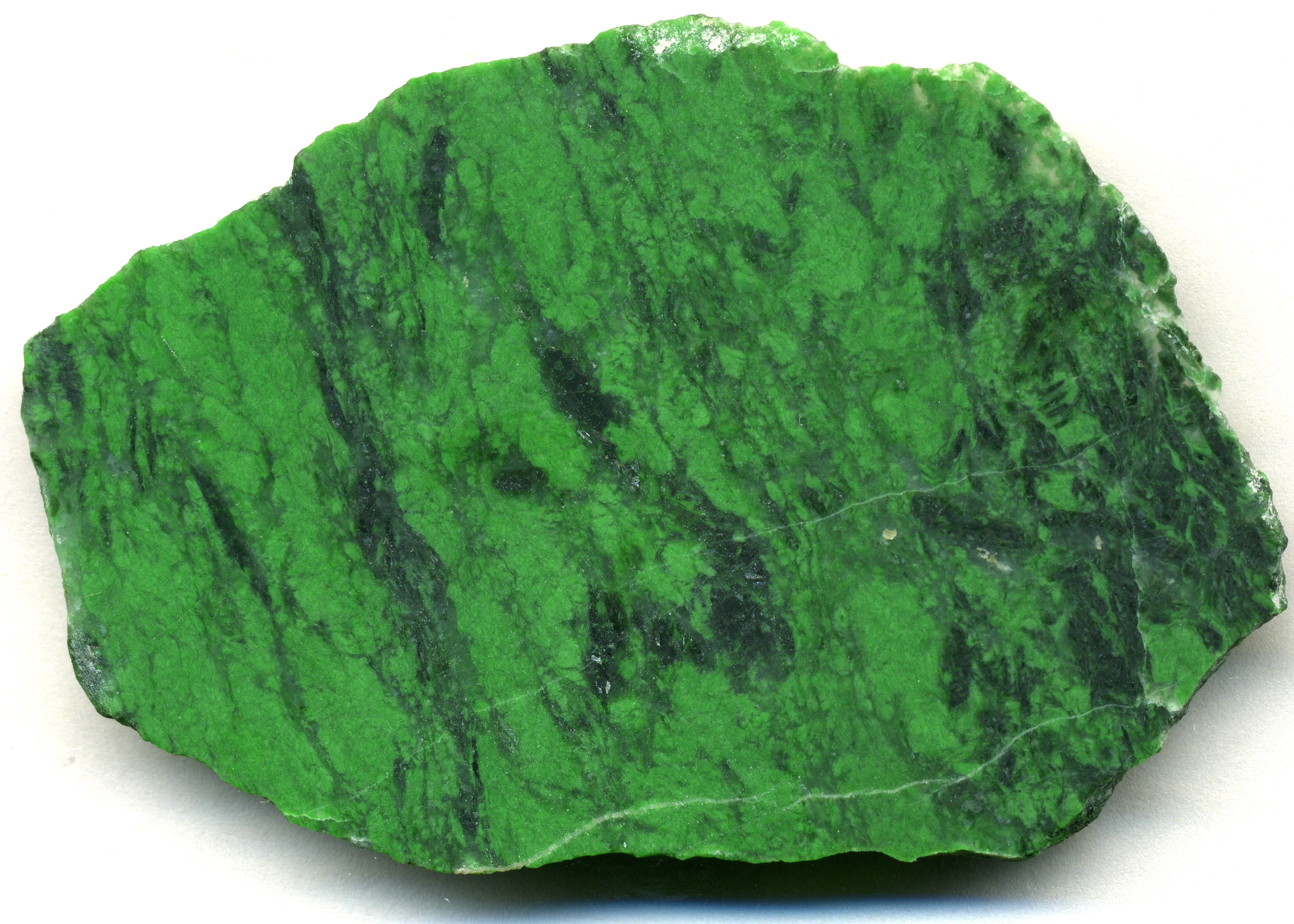 Jade has a hardness of 6 to 7 on the Mohs scale. Jade is actually the name of two different minerals – Nephrite and Jadeite.  -- Jade Stone Facts