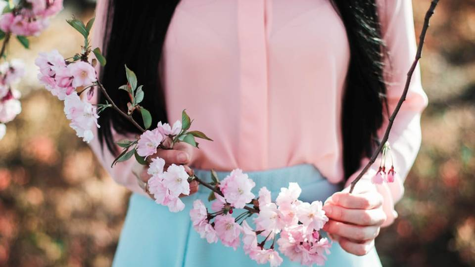 Cherry Blossom's beauty is delicate, pure, but fleeting.  It was the symbol of ethereally beautiful geishas' femininity, as well as a symbol for the power of warriors. -- Symbolism for Cherry Blossom