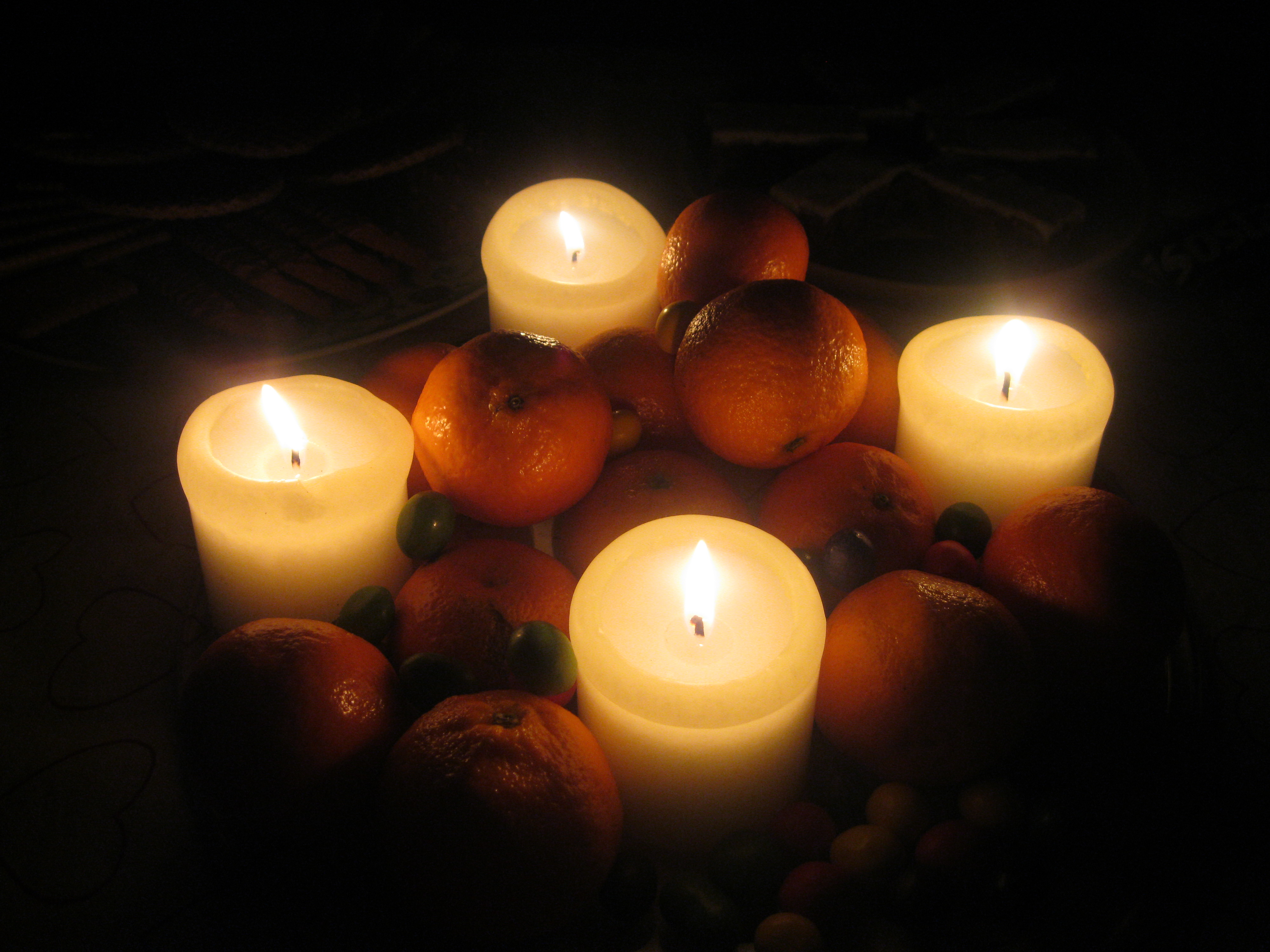 When setting up a magical altar or sacred space, keep in mind that oranges lend themselves to ancestral magic and represent reincarnation and immortality as well.  They attract abundance and good fortune, and are also associated with youthfulness. -- Orange Metaphysical Properties