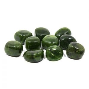 Jade Stone Tumbled from Crystal Age