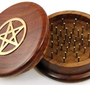 Pentagram Herb Grinder from AzureGreen