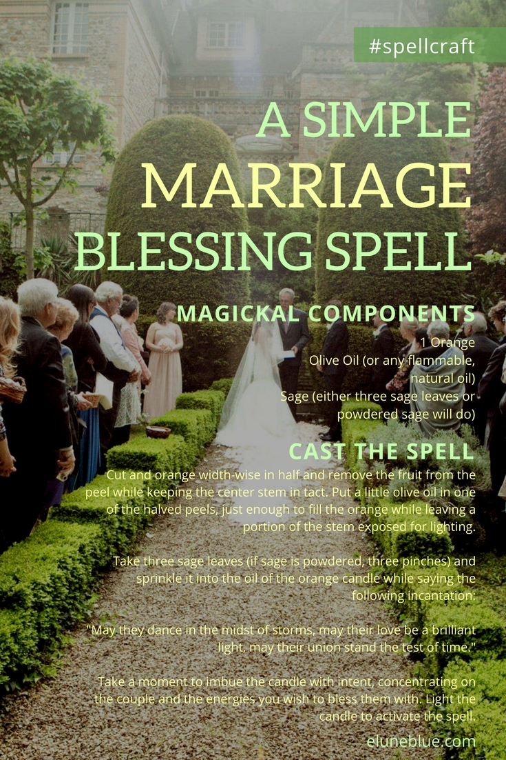 A Simple Marriage Blessing Spell - Spellcraft - Elune Blue