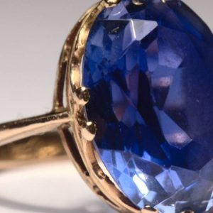 In terms of crystal healing, sapphire is used to treat fevers and burns, as well as ailments affecting the eyes and sight. -- The Magic of Sapphire