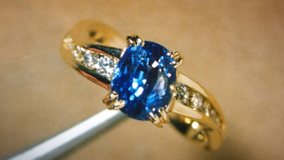 Sapphire is the stone of royalty, wisdom, and celestial hope. -- The Meaning of Sapphire