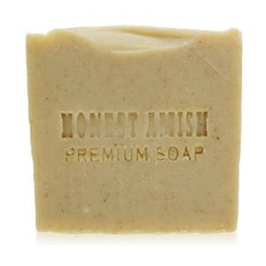 Natural Peppermint and Chickweed Soap Bar by Honest Amish