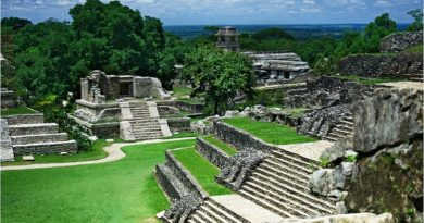 Palenque Ruins - Mayan Ruins Discovered in Guatemala - Elune Blue (800x445)