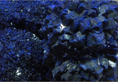 With Azurite, we have a stone that gives power to our voice and awakens our spirit and intuition to deeper things. It is a stone for communicators, and those who channel and communicate with spirits, as well as those with desire to articulate to their inner truth more clearly. -- Azurite Meaning and Uses