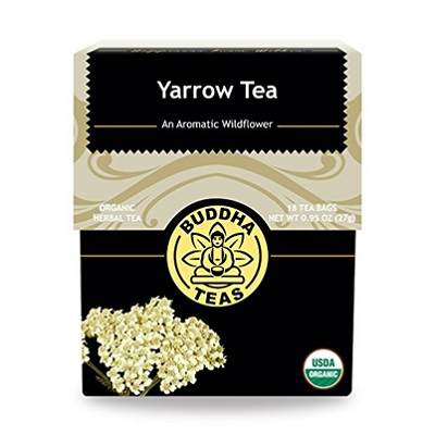 Each cup of yarrow tea is full of nutrients such as vitamin C.Add a dash of honey and a spritz of lemon to help smooth out the flavor. -- Yarrow Tea