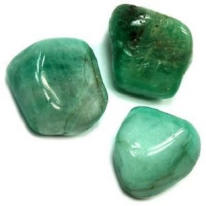 Emerald stone helps inspire feelings of love and compassion, and is a popular gift among couples to inspire faithfulness. -- Emerald Tumbled Stone